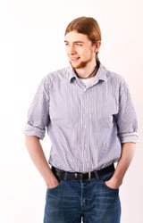 Photo of Lars Butler - one of our software engineers
